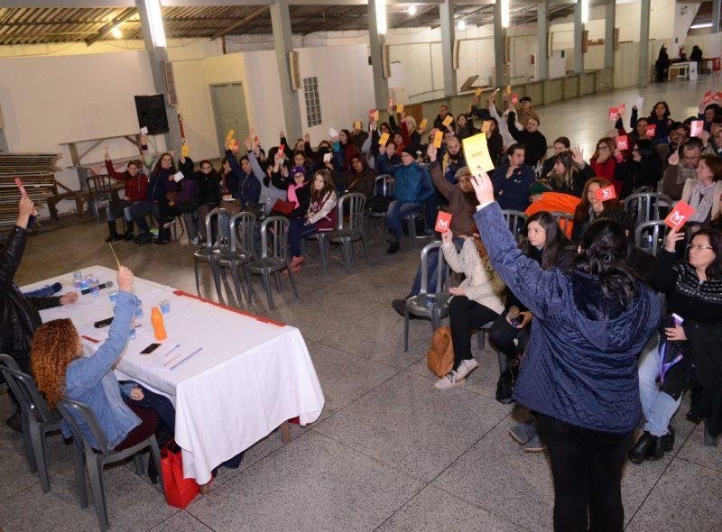 Assembleia servidores municipais Araucaria